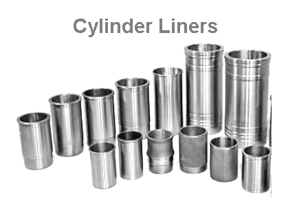 Cylinder liners used in engine cylinder