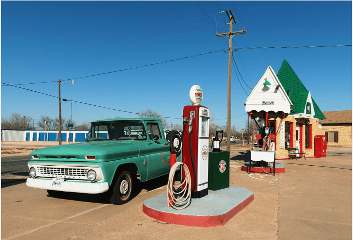How to save fuel (Gas filling station)