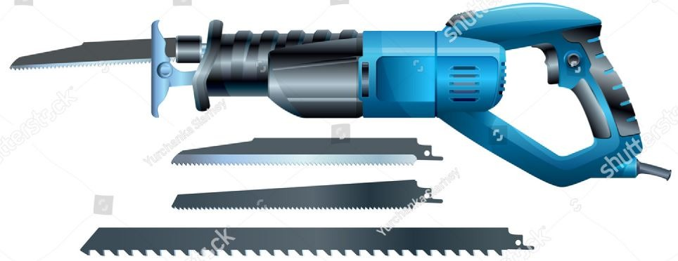 Types of sawing machine: Reciprocating Saws