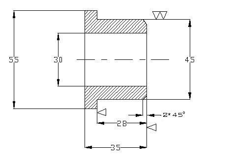 Indication of Surface Roughness by Symbols