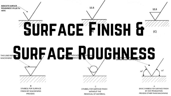 Surface Finish & Surface Roughness