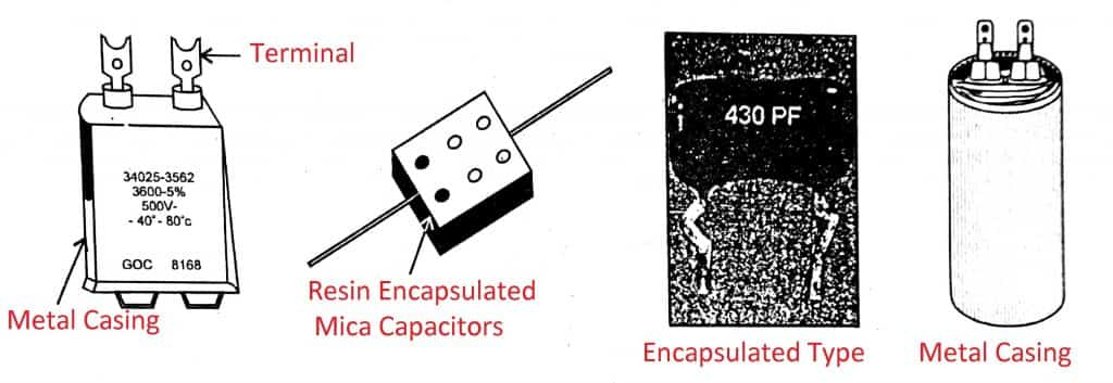 Fixed Capacitor types