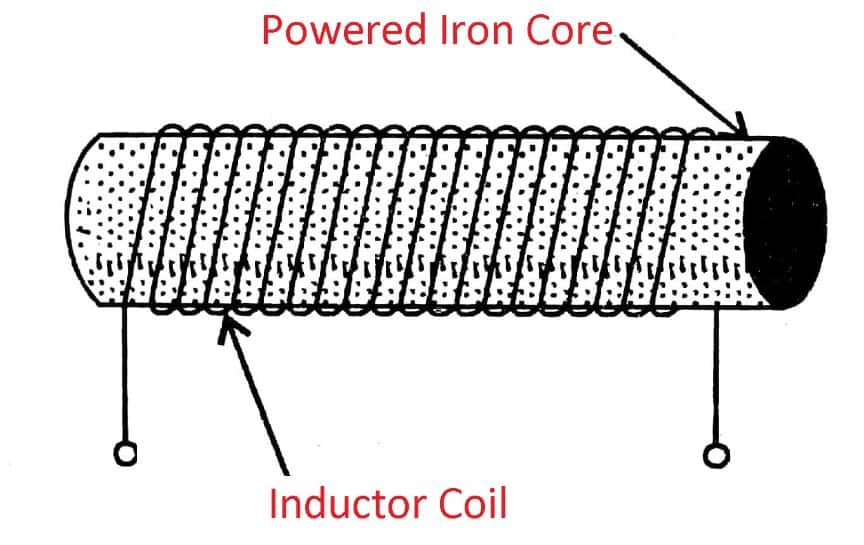 Powdered Iron Cored Inductor
