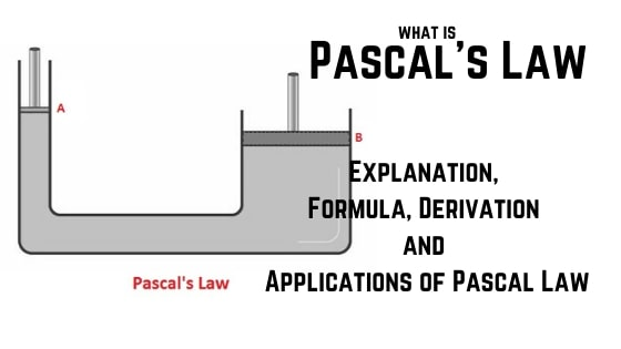 Pascal's Law and its applications