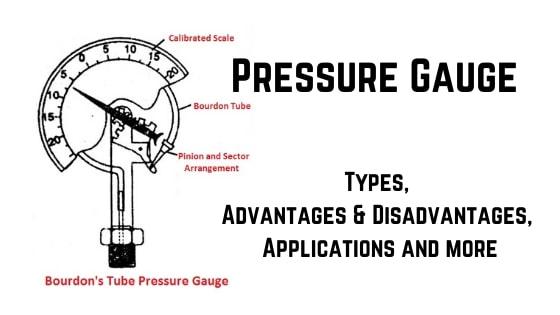 Pressure Gauge types parts working