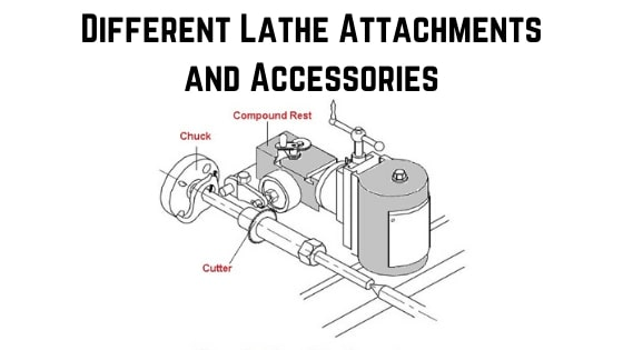 Different Lathe Attachment and Accessories
