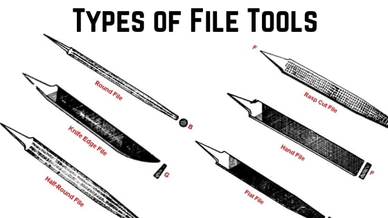 types of file tools