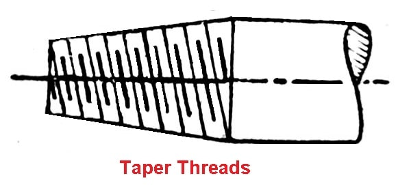 taper thread