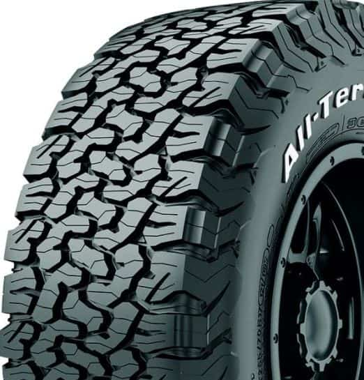 Types of tires: All-terrain Tires