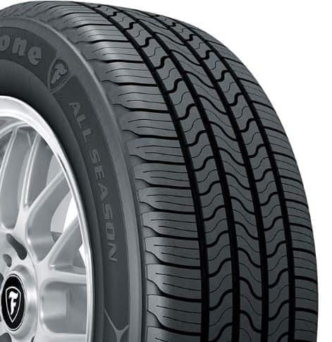 Types of tires: All-season Tires