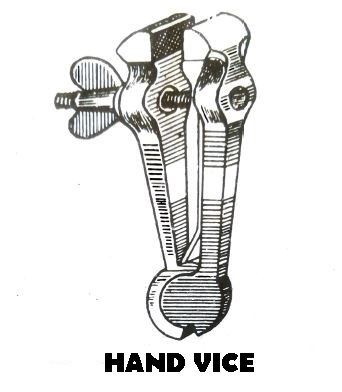 types of vice: Hand vice