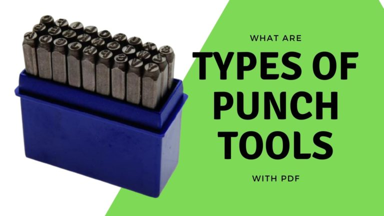 Types of punch tools