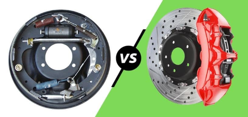 Difference between drum brake and disc brake