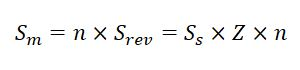 Feed formula for Milling Operation